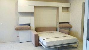 фото с монтажа кровать-дивана Ergoroom для отзыва