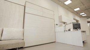 шкаф-кровать вертикальная двуспальная с подьемным механизмом фото