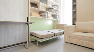 шкаф-кровать разложенная
