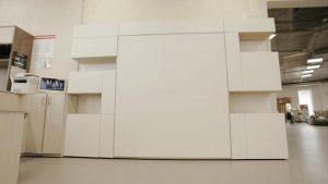 шкаф-кровать трансформер вертикальная одноярусная взрослая