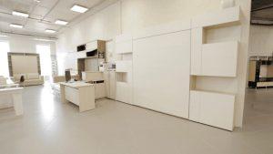 шкаф-кровать трансформер вертикальная одноярусная фото