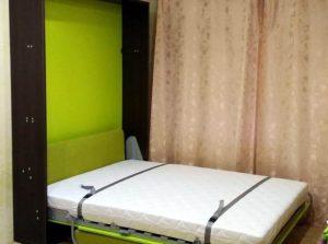 купить шкаф кровать с диваном трансформер спб