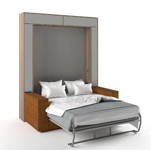 откидная кровать встроенная в шкаф